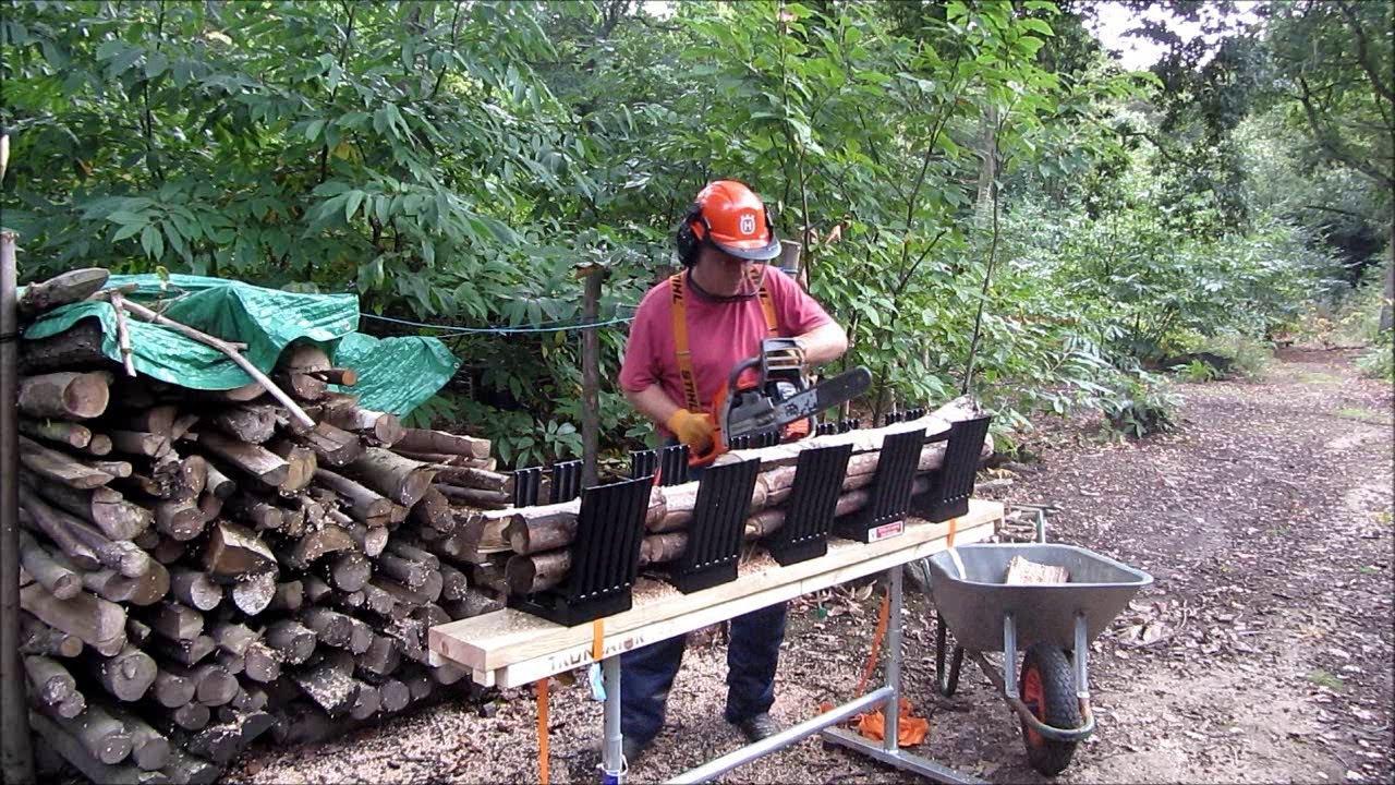 truncator chainsaw logging bench as seen on dragon s den
