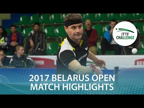 2017 Belarus Open Highlights: Kalinikos Kreanga vs Tomas Mik