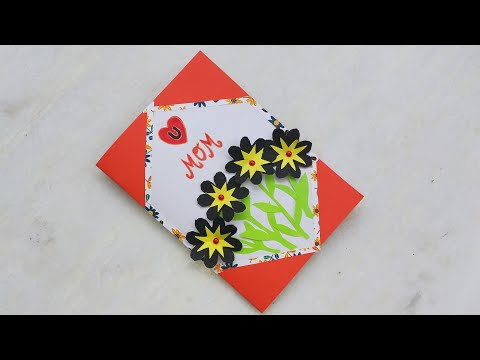 How to make mother's day card easily/gift ideas for mother/birthday card for mother/Latest card