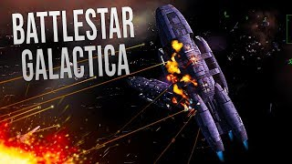 FIRE ALL WEAPONS! - Battlestar Galactica: Fleet Commander