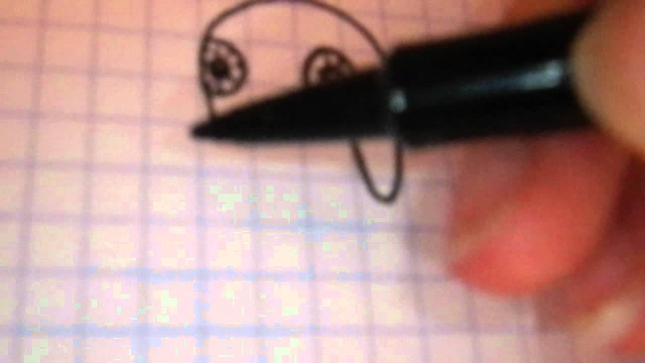Dessiner une chouette ou un hibou youtube - Chouette a dessiner ...