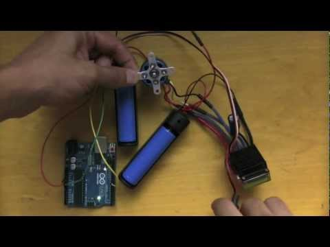 how to build brushless dc motor with arduino