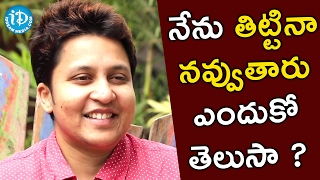 People Laugh Even If I Shout On Them - Snigdha || Talking Movies with iDream