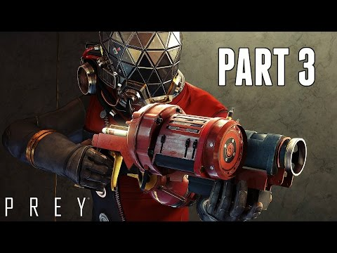 Prey Walkthrough Part 3 - Zero Gravity Propulsion Suit (Ps4 Pro Gameplay HD)
