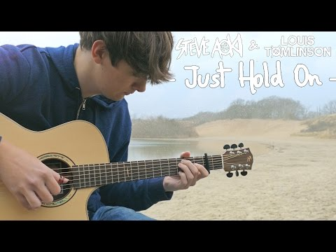 Just Hold On - Steve Aoki & Louis Tomlinson - Fingerstyle Guitar Cover