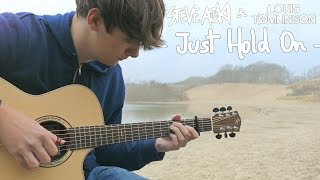 Just Hold On - Steve Aoki & Louis Tomlinson [Fingerstyle Guitar Cover by Eddie van der Meer]
