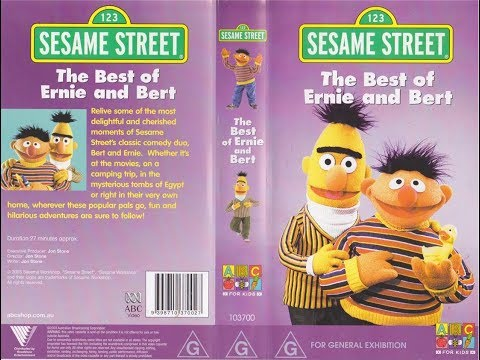 123 Sesame Street Home Video The Best Of Ernie And Bert