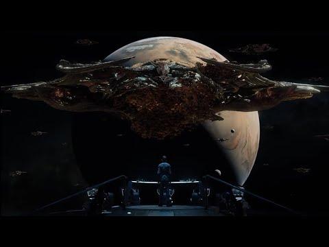 Самый крутой фантастический фильм о космосе,(межгалактический боевик)