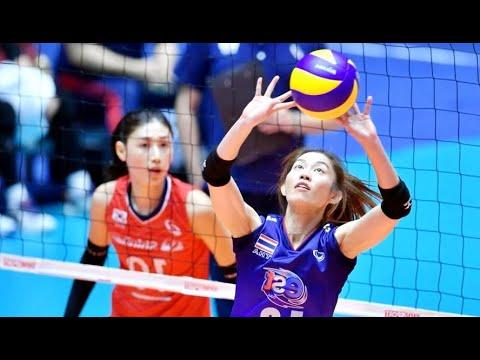 ไทย - เกาหลีใต้ Korea - Thailand *ชิงแชมป์เอเชีย 2019 Asian Championship : Classification 8