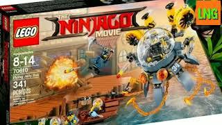 Все наборы по Lego The Ninjago Movie!