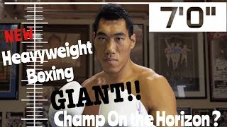 Is this Chinese Giant the new heavyweight boxing threat ?
