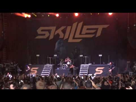 Skillet - Monster LIVE @ Blossom Music Center 08/02/2017