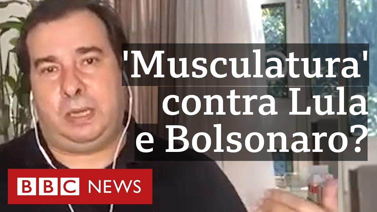 Rodrigo Maia: 'Nenhum nome do centro tem musculatura sozinho para enfrentar Lula ou Bolsonaro'