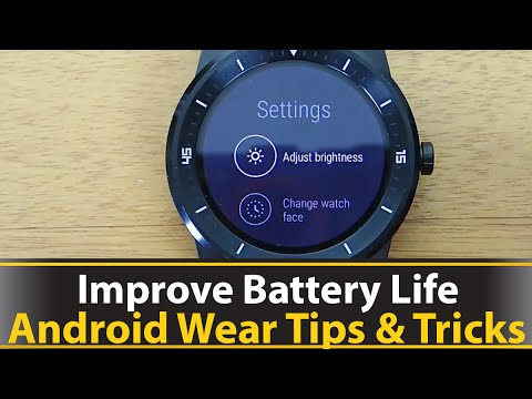 How To Improve Android Wear Battery Life