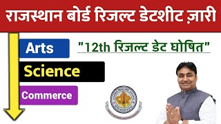 RBSE 12th Result Date Declared 2020.Arts, Science, Commerce Result Datesheet Release.RBSE Results