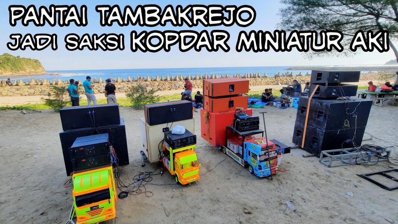 KOPDAR miniatur AKI pantai Tambakrejo