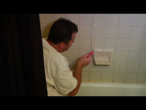 Diy Home Repairs How To Replace Cracked Tile Grout Youtube