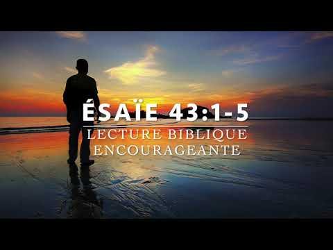 SON AMOUR TE SOUTIEN-Ésaïe 43:1-5