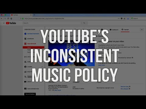 YouTube's Inconsistent Music Policies + How I Use Copyrighted Music in My Videos