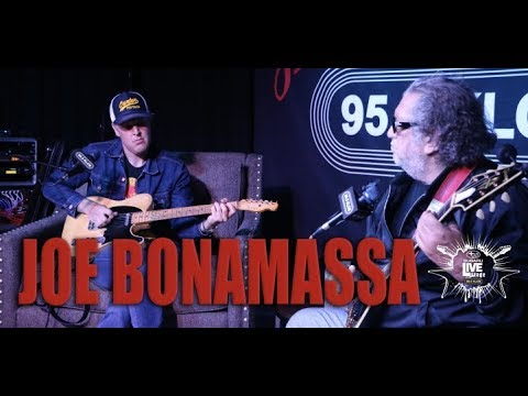 Joe Bonamassa on Jonesy's Jukebox from the KLOS Subaru Live Stage