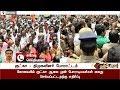 DMK persons protest in Coimbatore regarding Gutka issue #Gutka