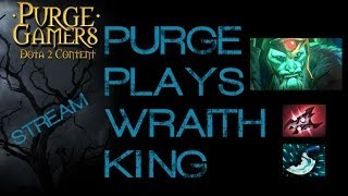 Dota 2 Purge plays Wraith King