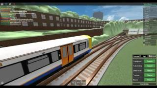 Roblox Mind the Gap Transport Simulator (WIP) VERY RARE class 378 on Sub-Surface Part 1