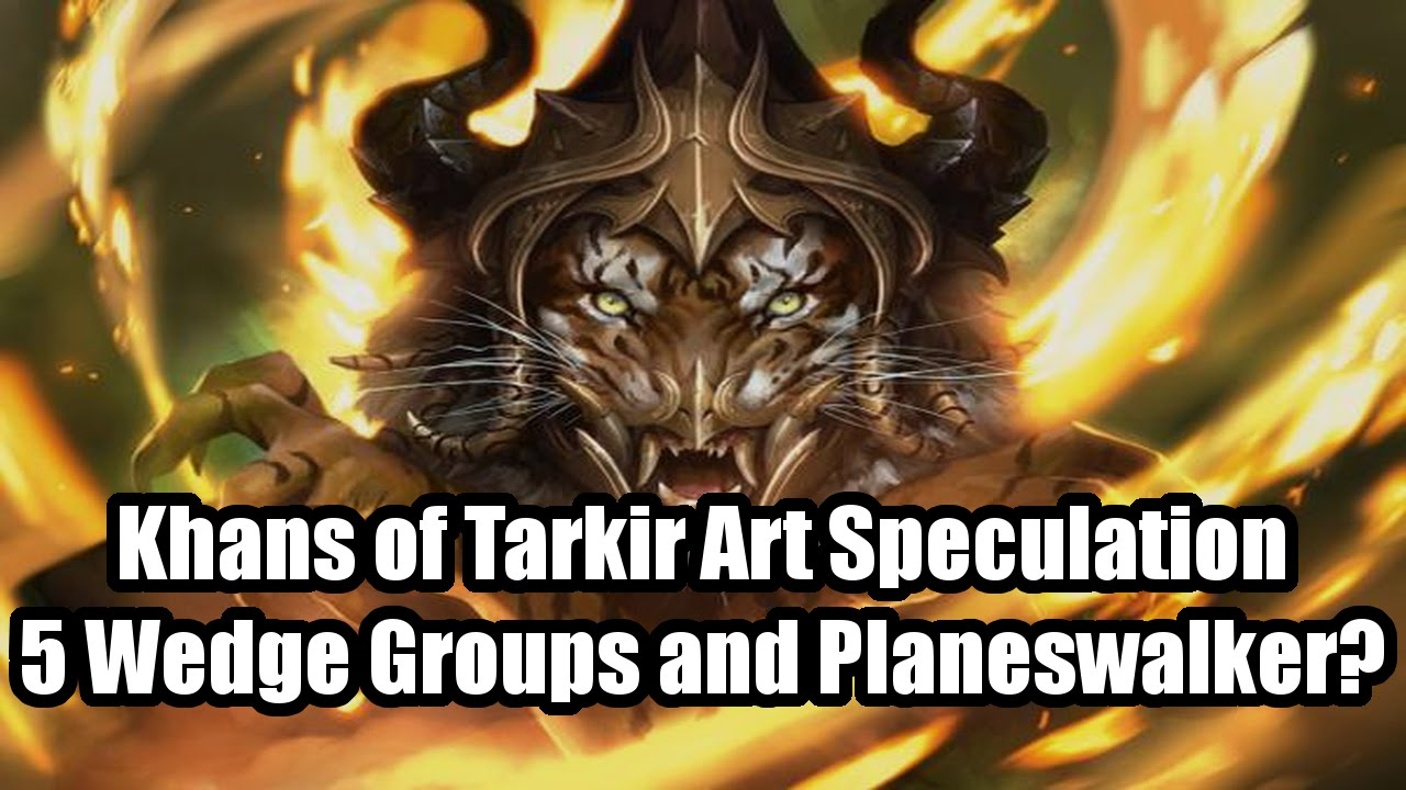khans of tarkir speculation wedge clan art and