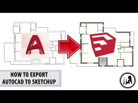 How To Export Autocad To Sketchup