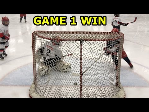 Kids HocKey - Niagara Battle (Canada) Tournament First Game Highlights Big Win