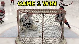 Kids HocKey - Niagara Battle (Canada) Tournament First Game Highlights Big Win