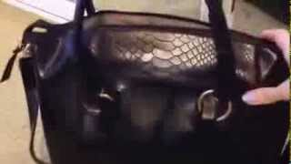 Black Street Level Handbag Mp3