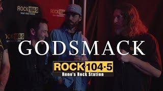 Godsmack Interview at Rock 104.5 Studio East L