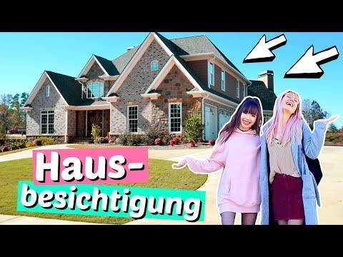 Wir besichtigen Häuser