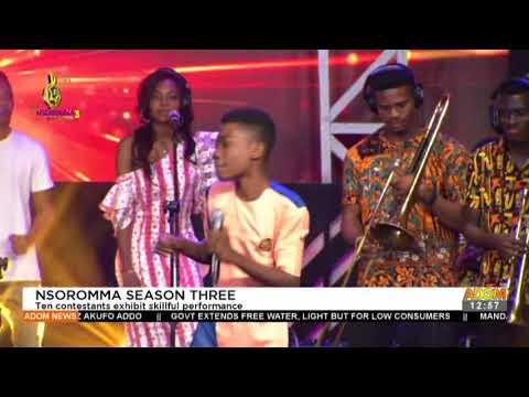Nsoromma Season Three: Ten contestants exhibit skilful performances - Premotobre Kasee  (4-1-21)