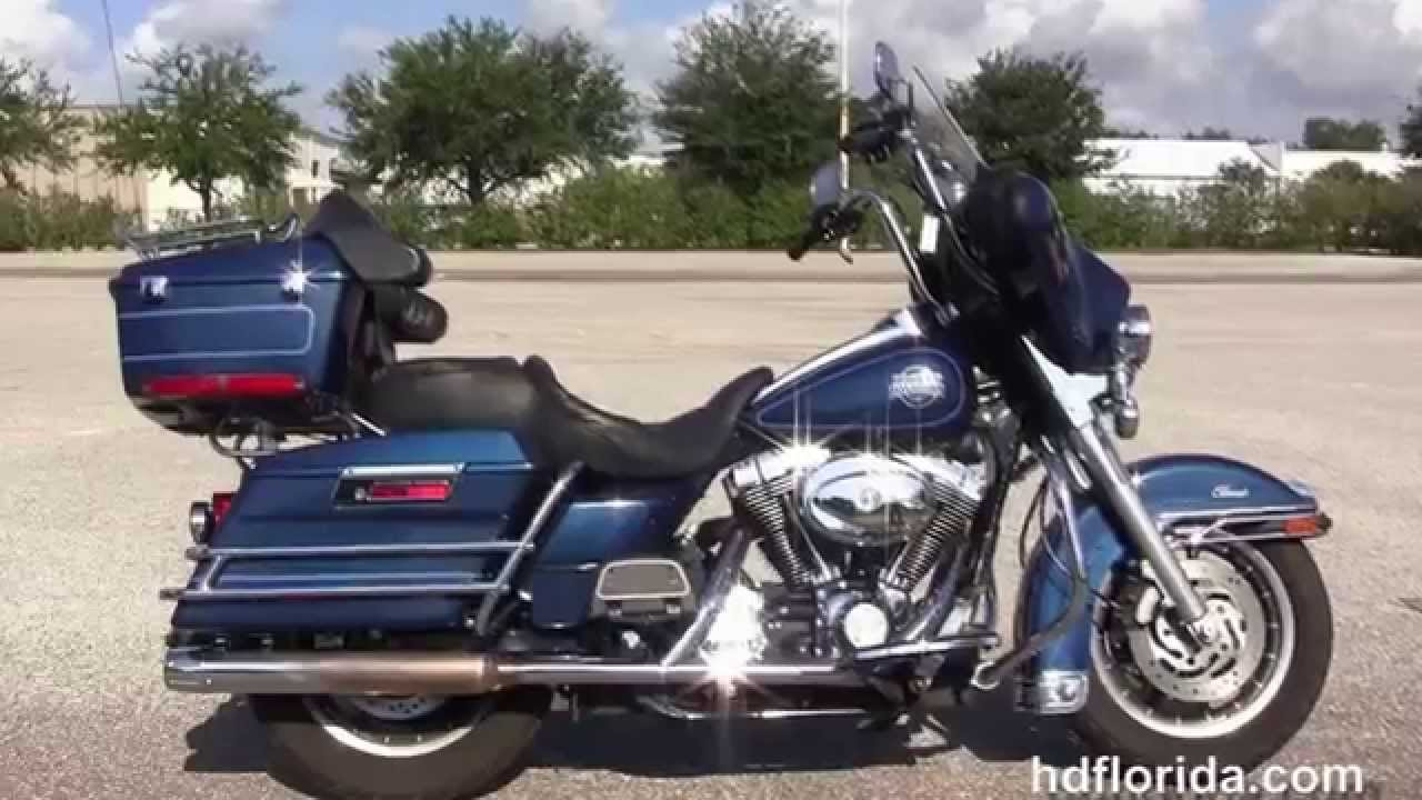 Used 2000 Harley Davidson Electra Glide Classic Motorcycles For Sale