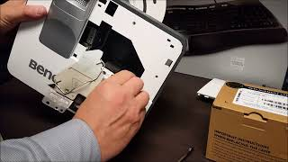 How To Change the Bulb on A Benq Projector