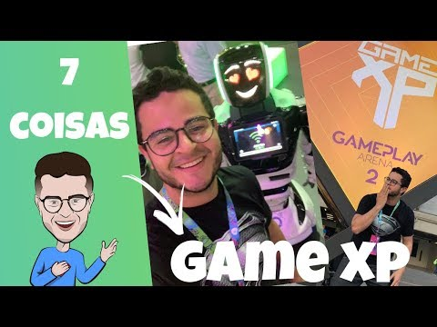 VLOG | 7 coisas sobre a Game XP 2019 no Rio de Janeiro