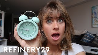 5 Days Of Becoming A Morning Person   Try Living With Lucie   Refinery29