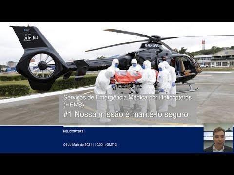 Webinar: Serviços de Emergência Médica por Helicópteros (HEMS) - #01 Nossa missão é mantê-lo seguro