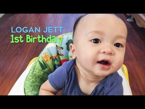Logan's 1st Birthday Slideshow