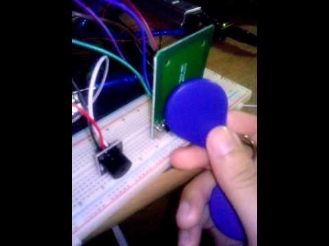 Arduino RFID Module (RC522) + Buzzer with Source Code