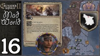 Crusader Kings 2: Mad World #16 - Lycan Empire vs The Aztecs vs The Coptic Pope vs The Mongols