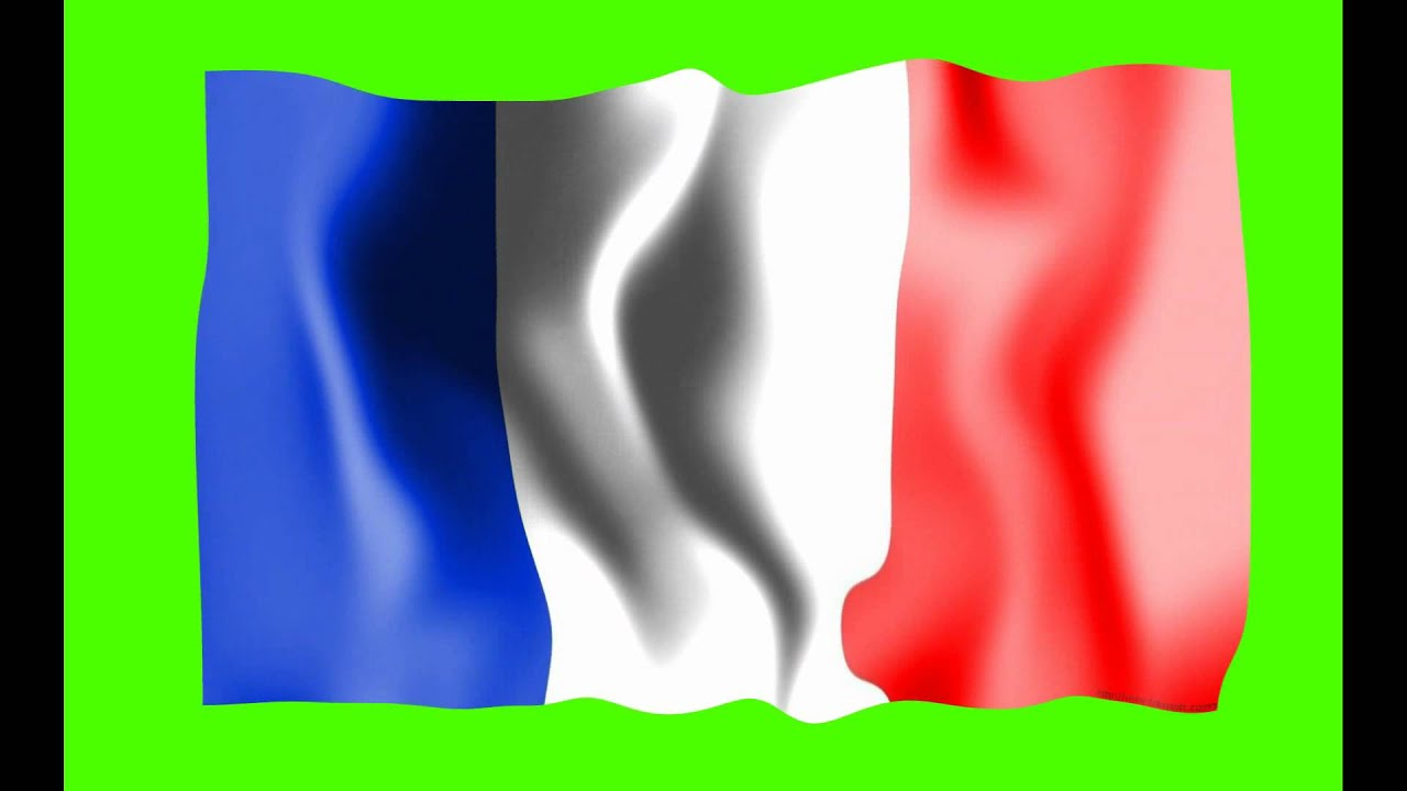 france flag green screen free royalty footage youtube