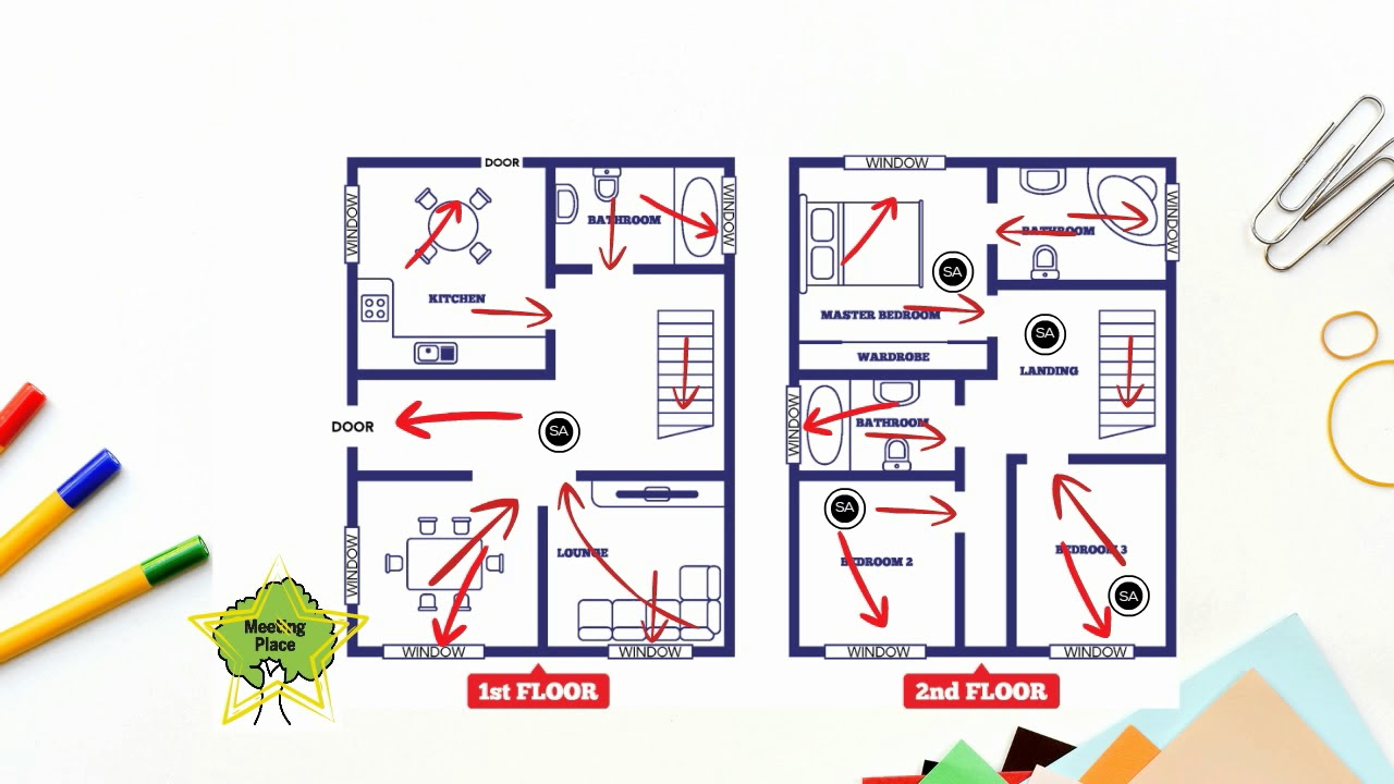 Making A Home Fire Escape Plan Youtube