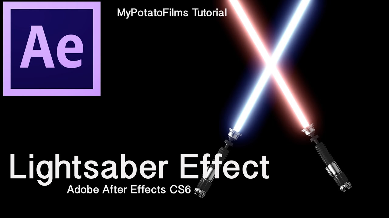 Lightsaber effect part 1 adobe after effects cs6 tutorial youtube baditri Images