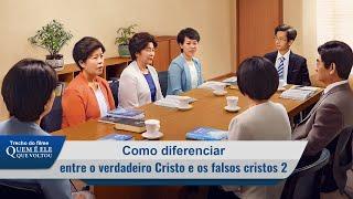 """Filme evangélico """"Quem é Ele que voltou"""" Trecho 2 – Como diferenciar entre o eveiro Cristo e os falsos cristos (2)"""