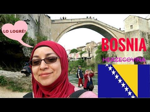 BOSNIA y HERZEGOVINA  | Mostar y Sarajevo | GRIS AMINAH #ViajandoConTurcos