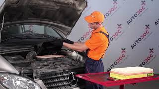 Como substituir Jogo de maxilas de travão de estacionamento MERCEDES-BENZ VIANO (W639) - vídeo guia