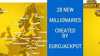 Eurojackpot Lottery Created 28 New Millionaires in One Draw